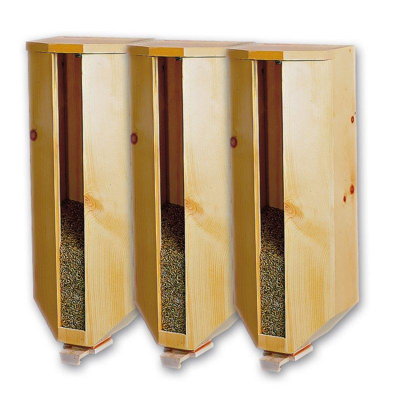 Bild zu Getreidesilo (3x5kg) aus Zirbenholz